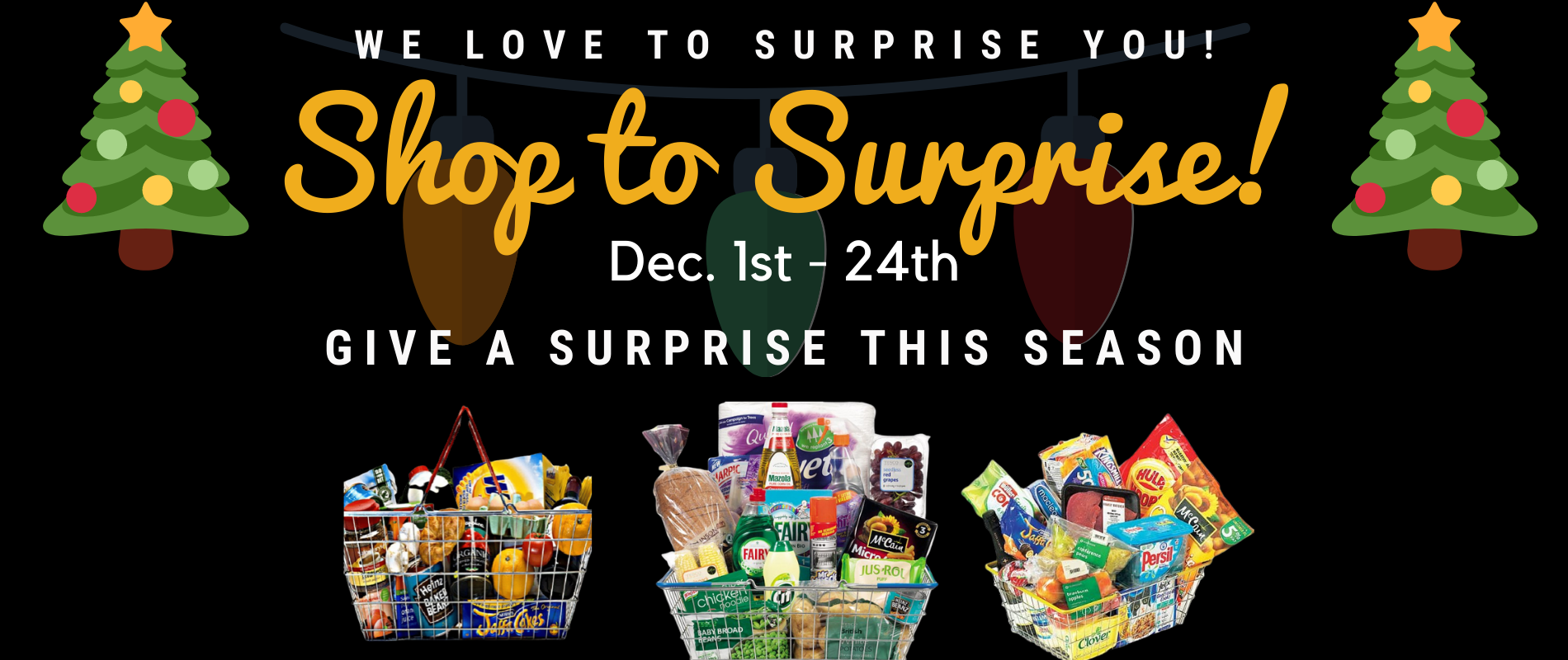 Shop to Surprise