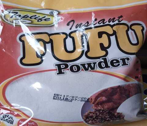 Toplife Instant Fufu Powder