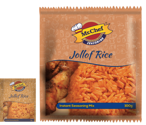 Mr Chef Jollof Rice Seasoning