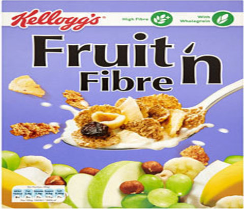 kellogg 39 s fruit n fibre foodlocker your online food store. Black Bedroom Furniture Sets. Home Design Ideas