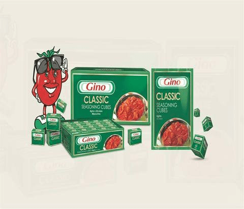 Gino Classic (beef) Cubes by 100