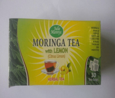 Moringa Tea With Lemon