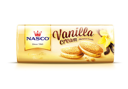 Nasco Vanilla Cream Biscuit