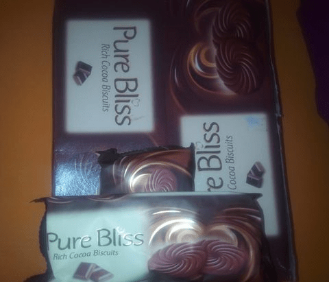 Pure Bliss Rich Cocoa Biscuits