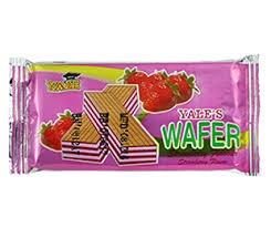 Yales's Wafer (Strawberry Flavour)
