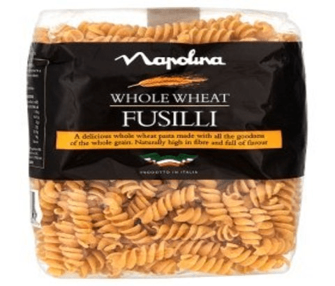 Napolina Whole Wheat Fusilli 500g