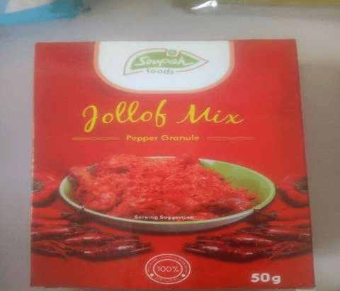 Soupah Jollof Mix