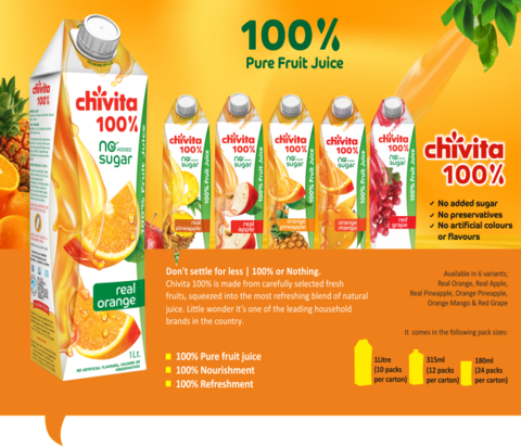 Chivita 100% Fruit Juice