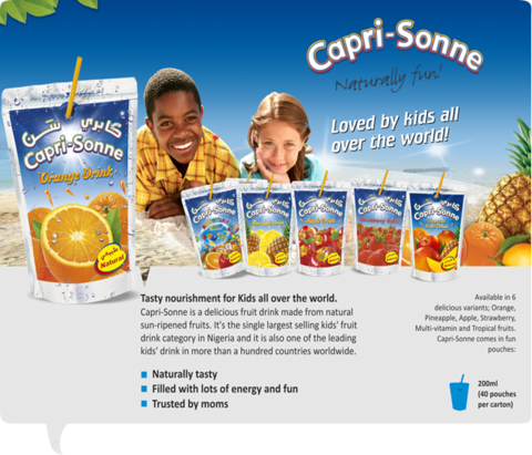 Capri-Sun Fruit Drink 200ml