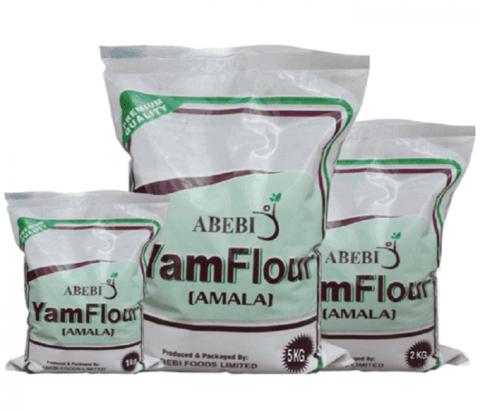 Abebi Yam flour 5kg